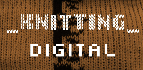 Research project – Knitting Digital